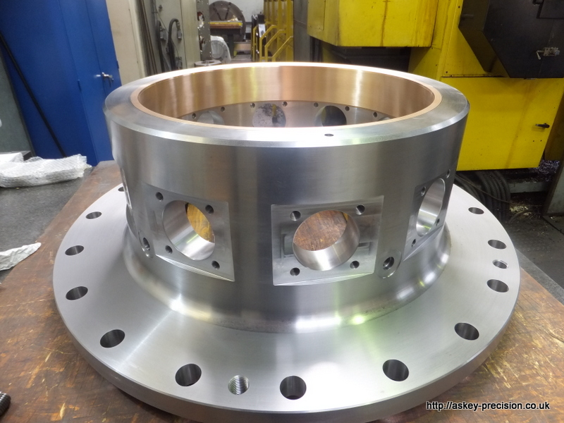 Large Diameter CNC Turning